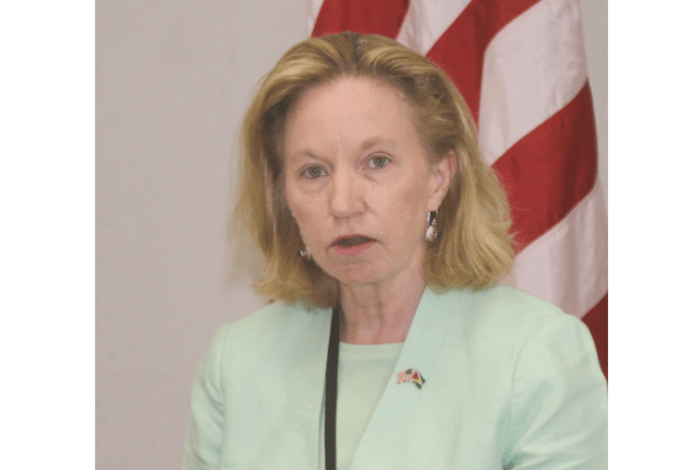 "US Ambassador ""shocked"" & ""appalled"" at attacks on GECOM Chair"