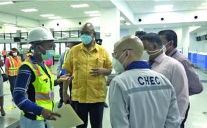 Inspection of CJIA project reveals corruption, mismanagement – Minister