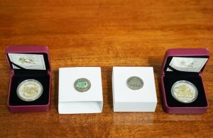 The commemorative coins