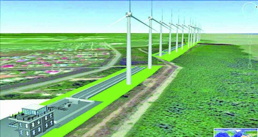 APNU/AFC-touted 26MW Windfarm cannot produce even 10MW
