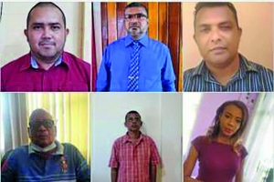 The six newly-appointed REOs