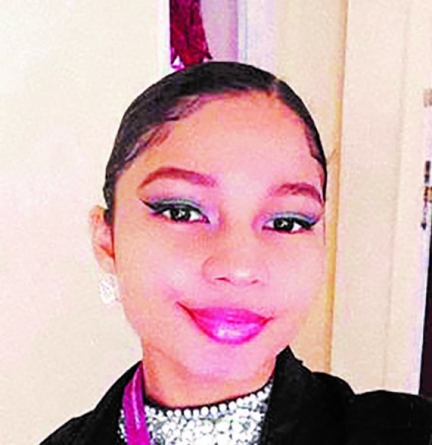 Aspiring lawyer Shykah Persaud has a passion for painting