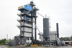 The Eco 2000 Batch Mix Asphalt Plant