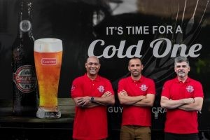 Three Guyanese Pals launch Guyana's first craft beer