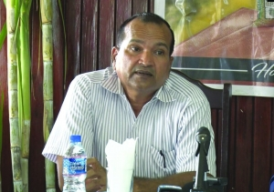 Acting Field Operation and Research Director Yudi Persaud