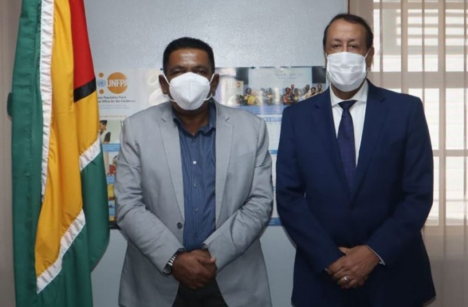 Guyana open to investments in fertiliser production, technology transfer
