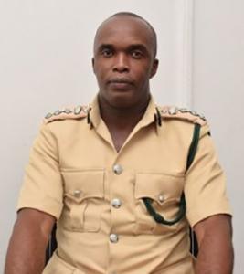 Director of Prisons, Gladwin Samuels