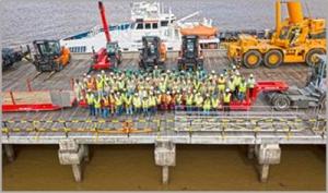 IPMA graduates employed at Guyana Shore Base Inc