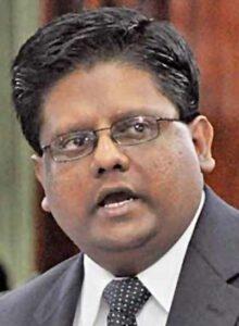 Minister of Finance, Dr. Ashni Singh.