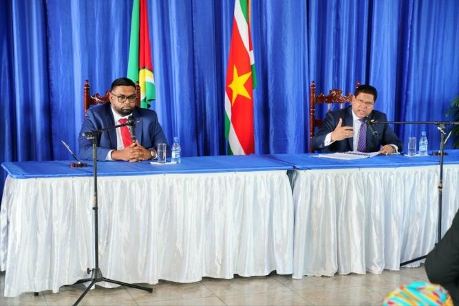 Guyana, Suriname to invite investors to build Corentyne River bridge, US$1 billion offshore base