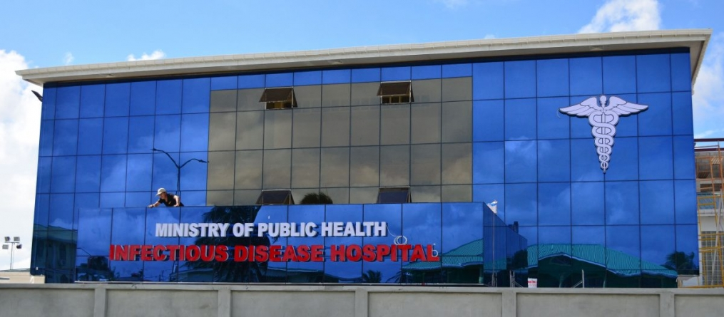 Infectious Disease Hospital's COVID-19 ICU now fully operational