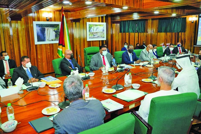 Oil & gas sector tops agenda as high-level Royal UAE investment group arrives in Guyana