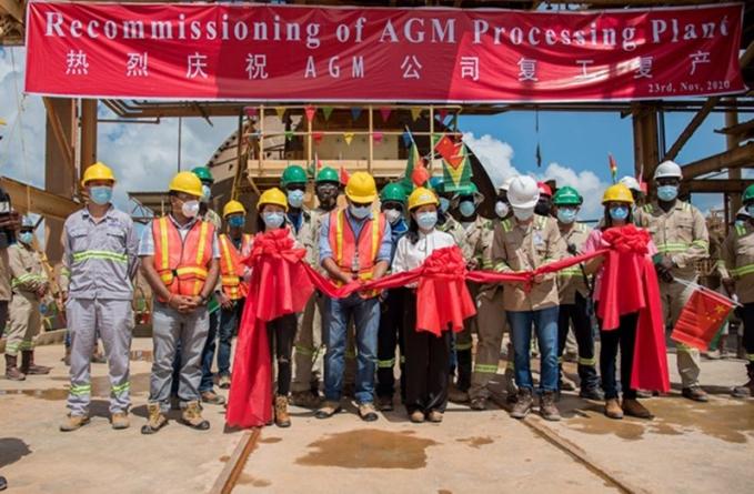 587 Guyanese re-employed at Aurora Gold Mine