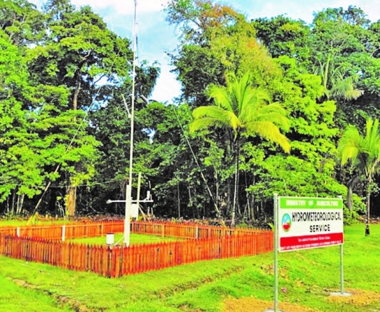 Meteorology, water quality monitoring initiative for Essequibo watershed