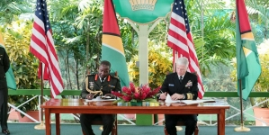 Guyana – US Acquisition and Cross-Servicing Agreement signed