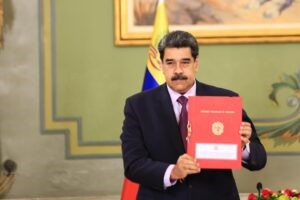 "Venezuelan Maduro vows to ""reconquer"" Essequibo; makes new presidential decree"