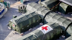 Qatar field hospital expected at 'West Dem' today