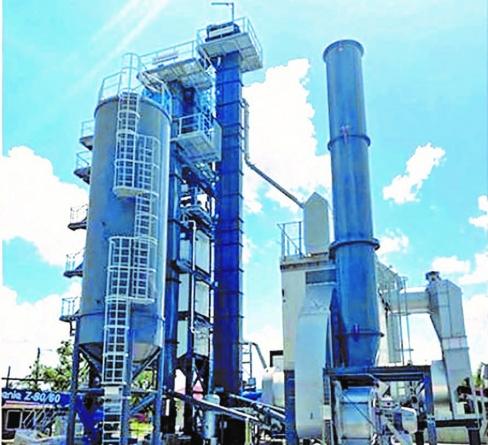 $488M asphalt plant built by APNU/AFC non-functional