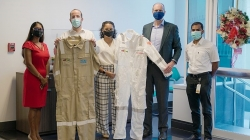 Local textile manufacturers providing coveralls for FPSO in Singapore