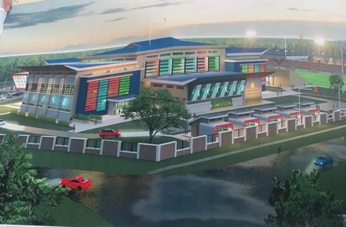 China to fund multipurpose indoor sports facility at Anna Regina