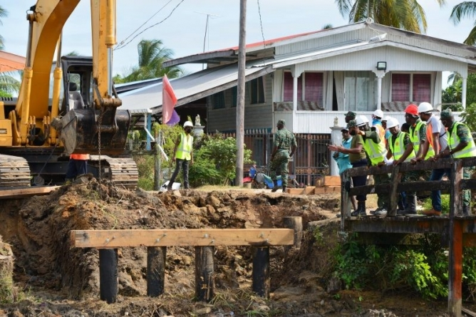 Army Engineering Corps spearheading several community projects