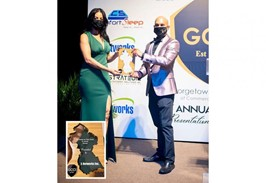 """E-Networks receives """"Large Business of the Year"""" award"""