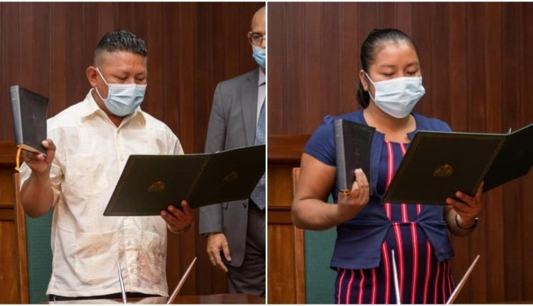 Reg. 8 Chairman, Vice Chair finally sworn in after delay of five months