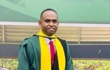 Crime Chief Blanhum graduates with LLB degree