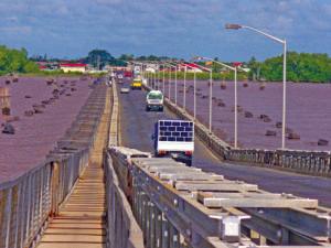 Nine foreign contractors shortlisted to build new Demerara Bridge