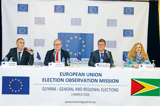 Now is time for decisions, actions on election reform – Head of EU Observation Mission