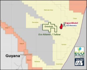 Orinduik Block partners looking to cash in on heavy oil find from Jethro-1 well