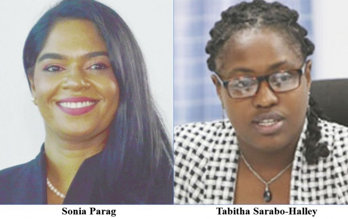 Sarabo-Halley, Parag clash over public service, scholarships