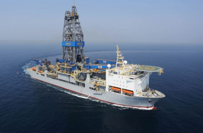 Sixth drillship arrives in Guyana's waters