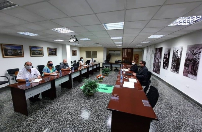Cuban sugar industry representatives meet with Guyanese officials