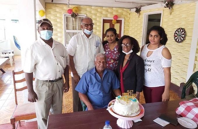 Janki Persaud turns 89