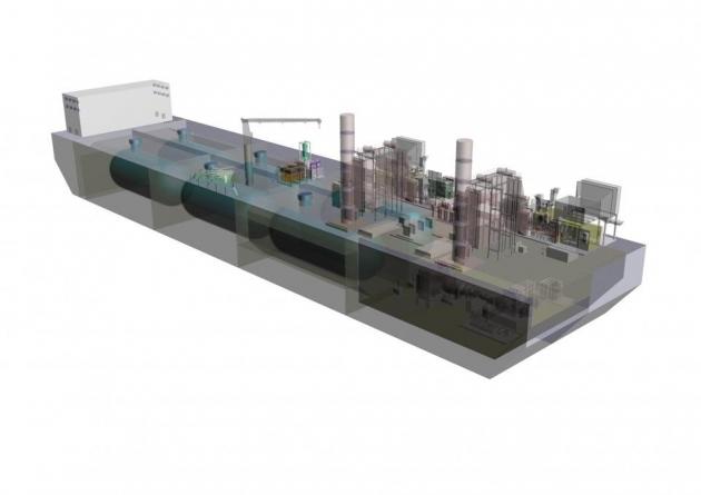 Japanese study said gas to power viable