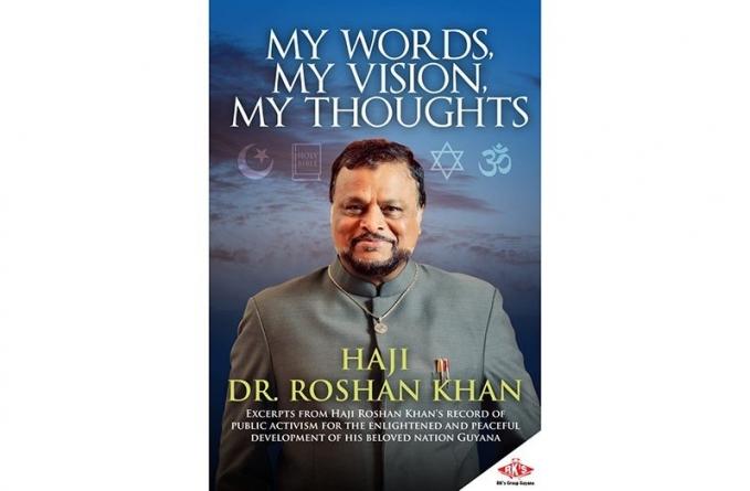 Roshan Khan launches third book