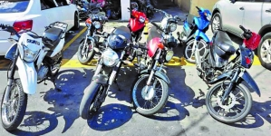 Police targeting motorcycle, bicycle bandits to clamp down on crime