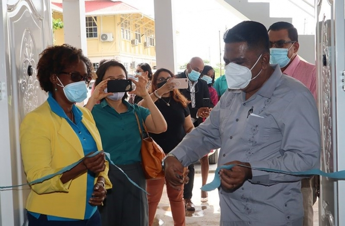 New FAO office commissioned at Agriculture Ministry's LBI Complex