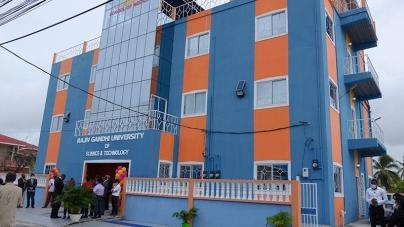Rajiv Ghandi University commissions new building