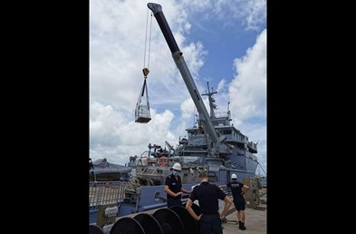 France dispatches flood relief to Guyana