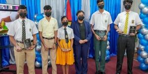 Guyana cops seven CXC awards for outstanding performances