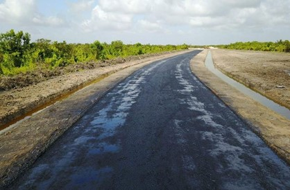 54% local labour approved for Ogle-EBD road project