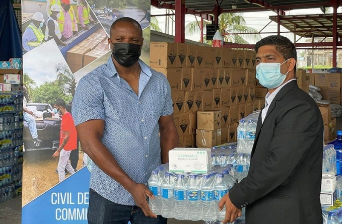 PYO contributes to flood-relief efforts