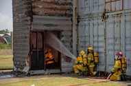 Trained firefighters for Mabaruma, Mahdia and Lethem