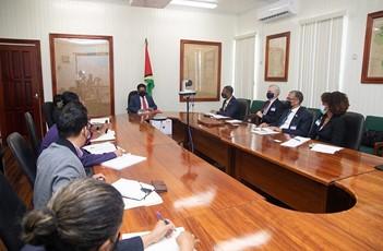 Strengthening partnerships for Guyana's transformation