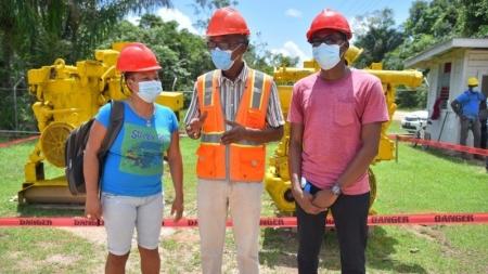 19 Kwakwani residents benefit from electrical installation training