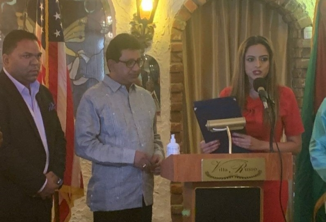 Attorney-General honoured by New York State Assembly