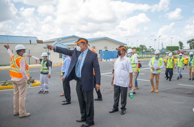 Contractor completes critical works on CJIA
