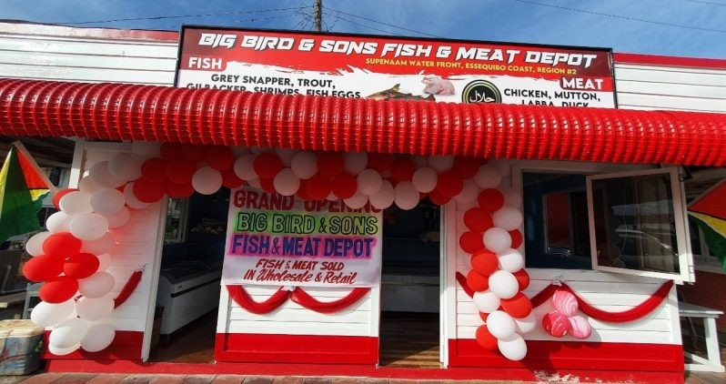 Fish and meat depot opens at Supenaam Waterfront